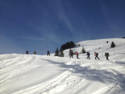 Schneeschuh-Wanderung im Allgäu
