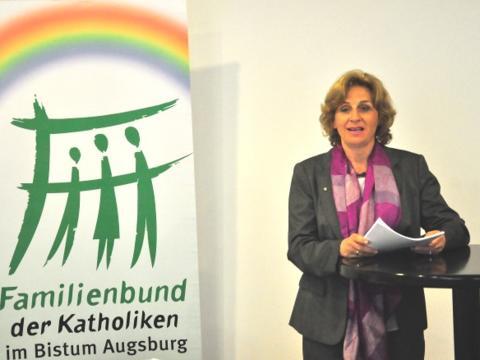 Christiane Lambrecht, Landesvorsitzende der Christdemokraten für das Leben in Bayern (Foto: Martin Wind)