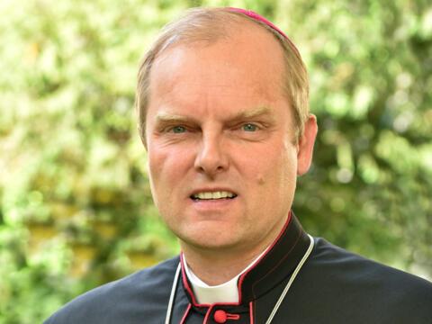 Weihbischof Florian Wörner (Foto: Nicolas Schnall / pba)