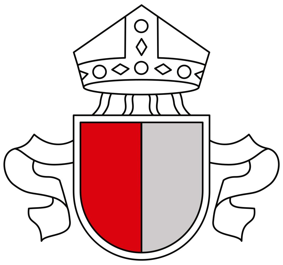 Das aktuelle Wappen des Bistums Augsburg