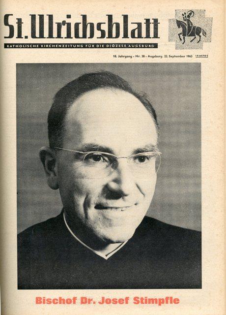 St. Ulrichsblatt Nr. 38/1963 vom 22. September 1963, S. 1