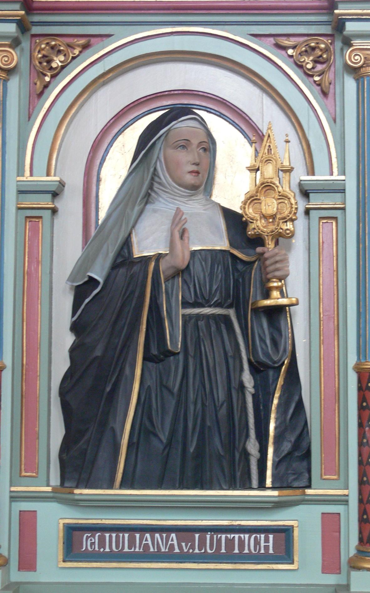 Hl. Juliana von Lüttich