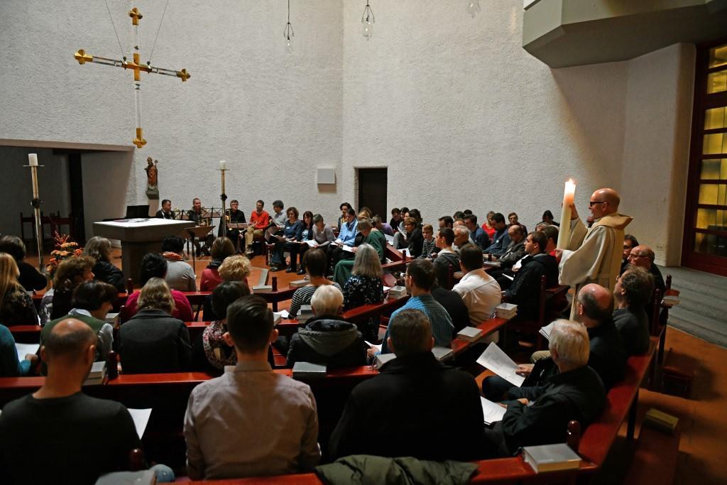 Abendlob beim Tag der Kirchenmusiker 2019 (Bild:  © Julian Schmidt, Bischöfliche Pressestelle Augsburg)