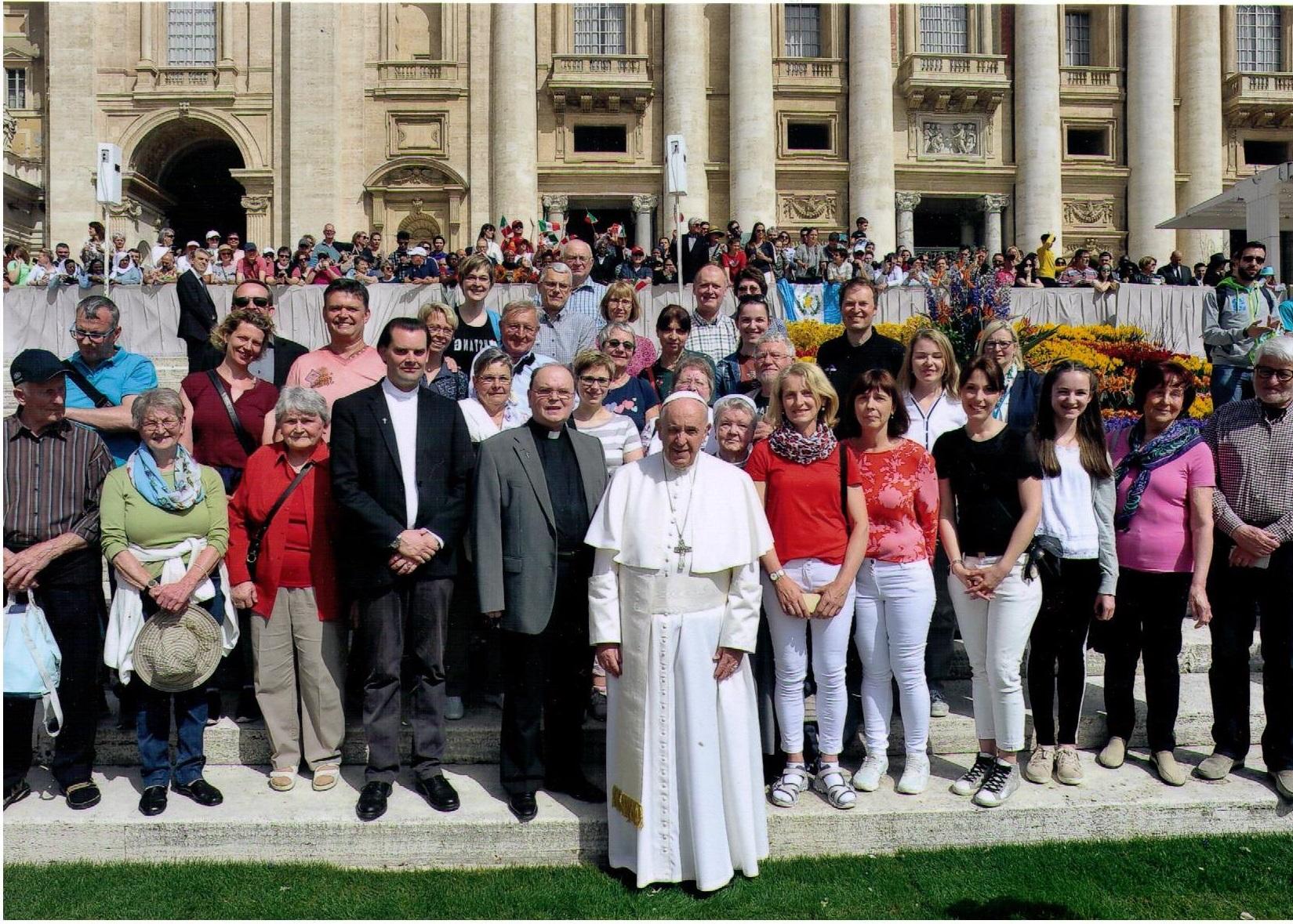 Pilgerreise der Diözese Augsburg nach Rom