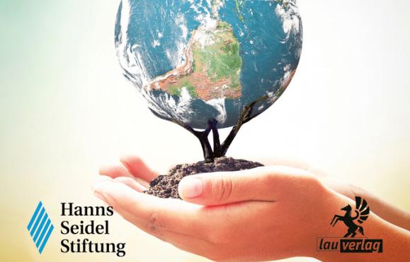 Die Autoren wollen Mut für eine nachhaltige Zukunft machen (Grafik: Lau-Verlag)