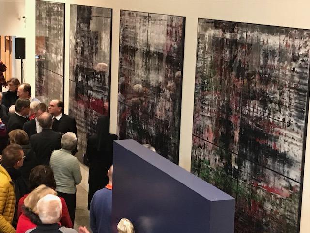 Über 100 Teilnehmer kamen zur Finissage in das Diözesanmuseum St. Afra (Foto: Schmucker)