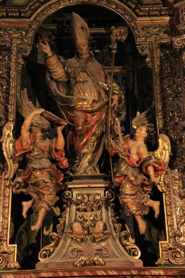 Altarbild des heiligen Narcissus im Dom von Girona © Andreas Düren