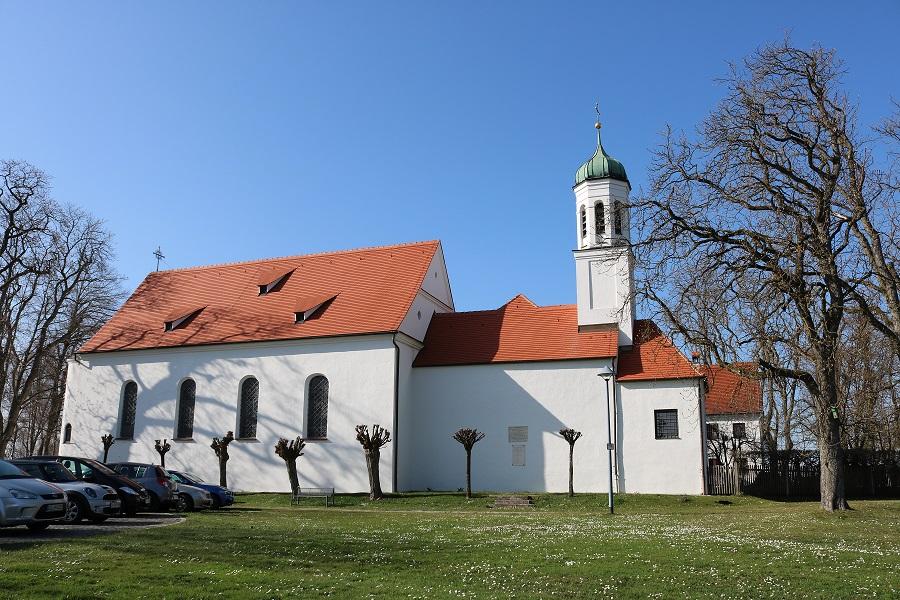 Kobelkirche: Kuratie- und Wallfahrtskirche St. Maria von Loreto (Westheim/Neusäß, aus dem Jahr 1602)