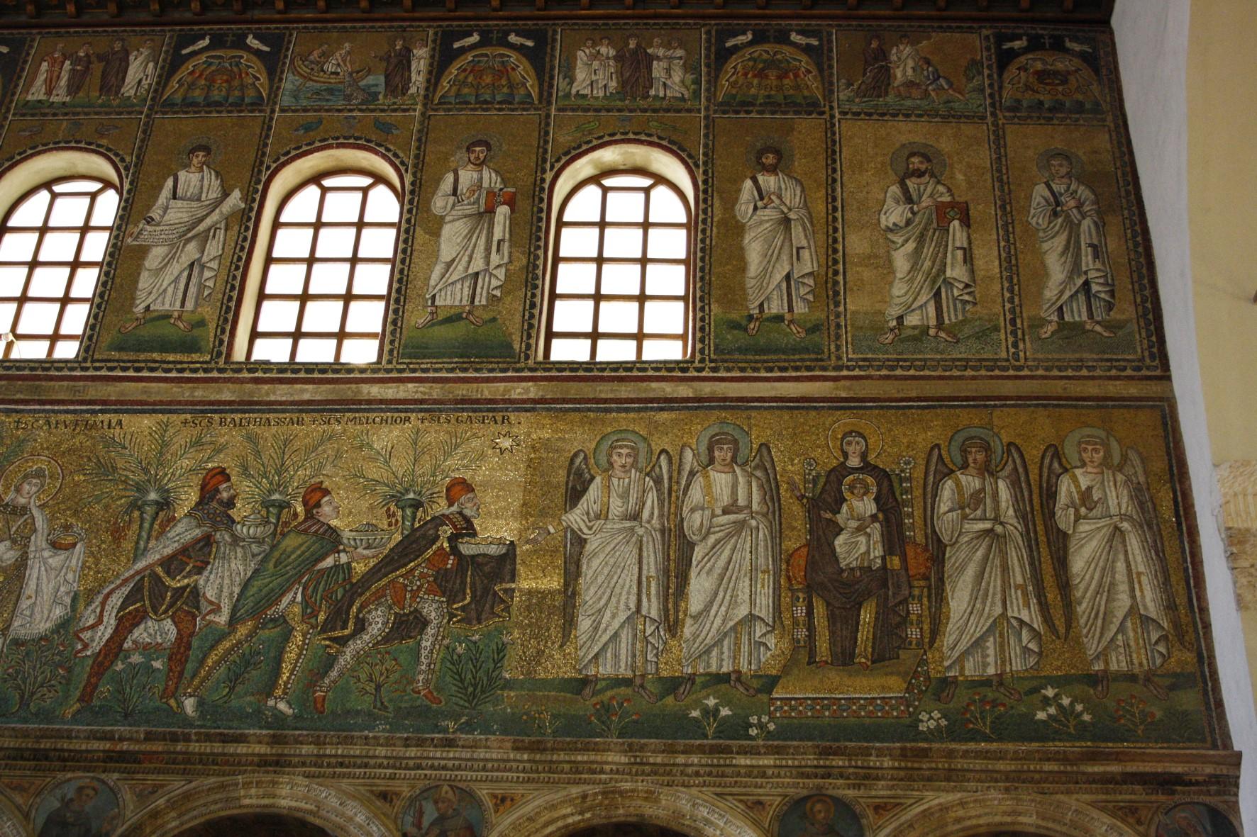 Heiligendarstellung in Sant'Apollinare Nuovo in Ravenna