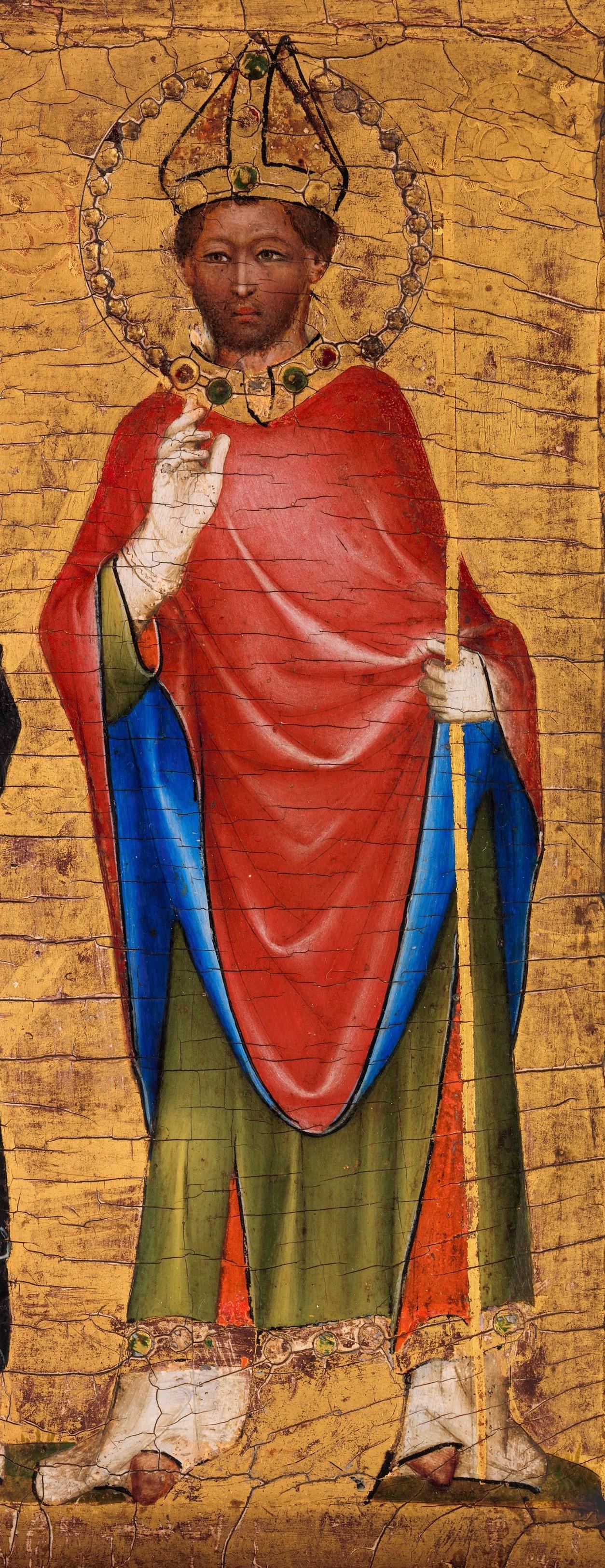 Ausschnitt eines privaten Andachtbilds, um 1345, Metropolitan Museum of Art, New York