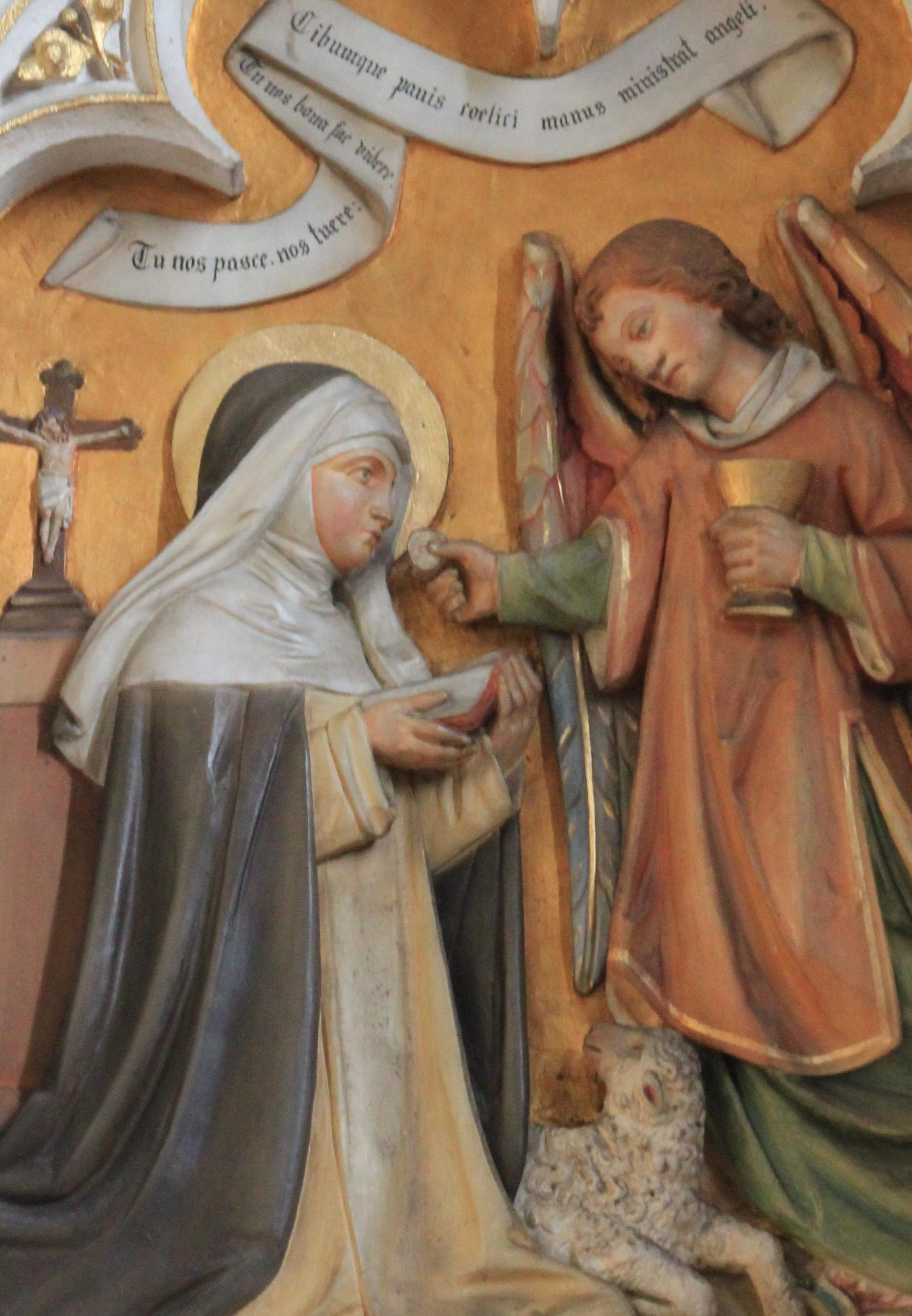 Hochaltarrelief in der Dominikanerkirche Friesach, 19. Jahrhundert (CC0)