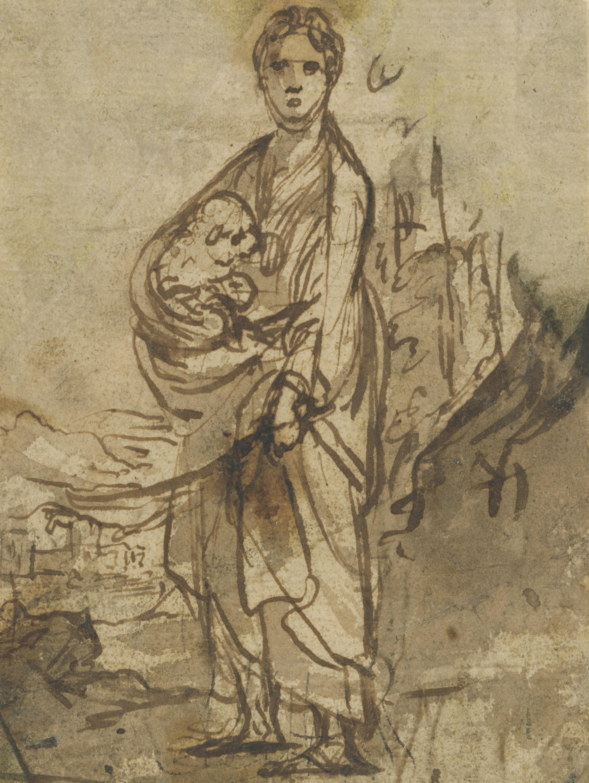 Adam Elsheimer, Die hl. Agnes, um 1605, The J. Paul Getty Museum, Los Angeles
