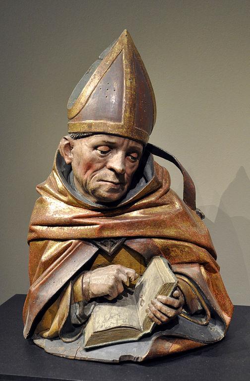 Hans Bilger, Ambrosiusbüste, 1489–1496, Liebieghaus, Frankfurt