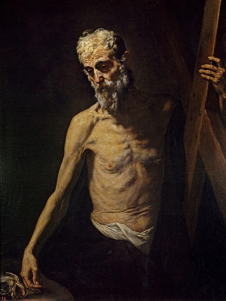 Jusepe de Ribera, Der hl. Apostel Andreas, um 1631, Museo del Prado, Madrid