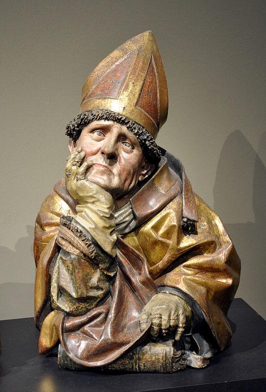 Hans Bilger, Augustinusbüste, 1489–1496, Liebieghaus, Frankfurt