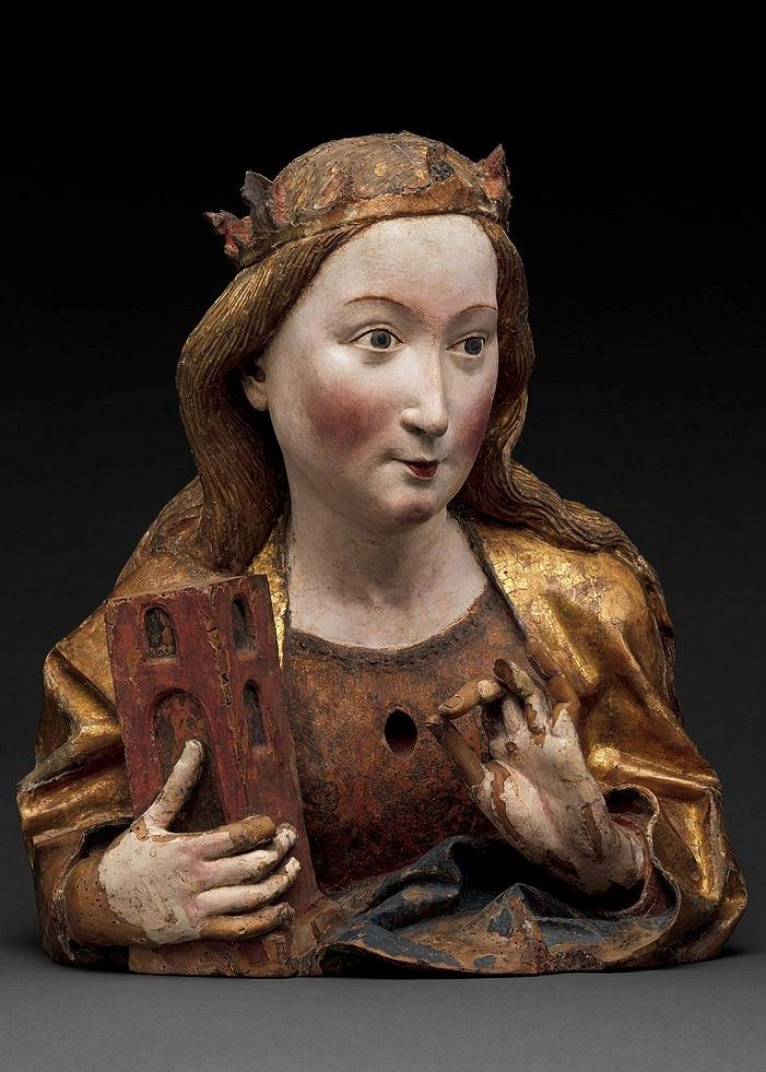 Reliquienbüste aus der Werkstatt von Niclaus Gerhaert von Leyden, um 1465, The Metropolitan Museum of Art, New York