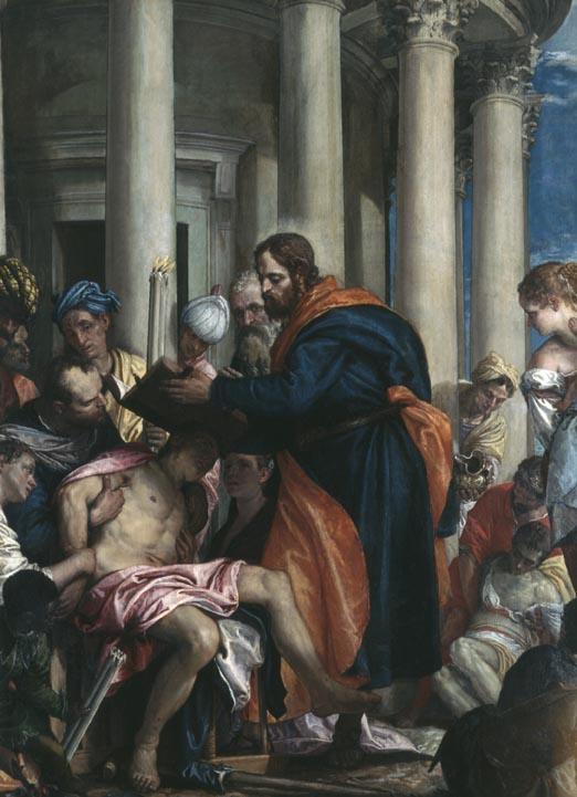 Paolo Veronese, Barnabas heilt die Kranken, um 1566, Musée des Beaux-Arts de Rouen