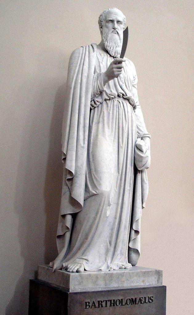 Bertel Thorvaldsen, Apostelfigur in der Kopenhagener Domkirche, 1828/1836