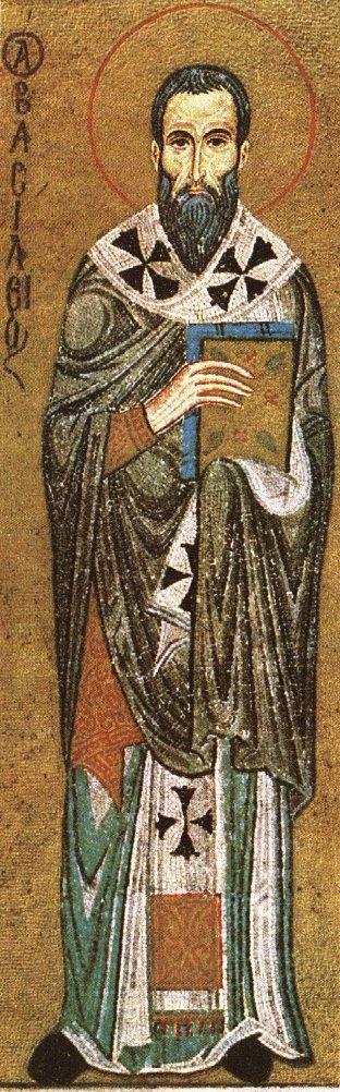 Mosaik in der Cappella Palatina im Normannenpalast von Palermo, 13. Jahrhundert