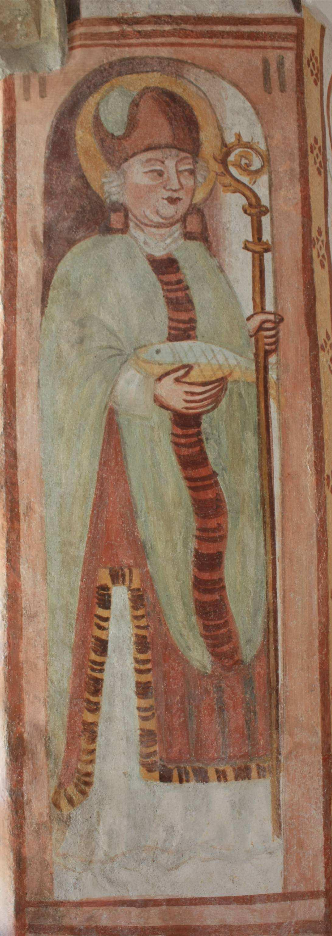 Bartholomäus von Lack, Der hl. Benno, um 1530, St. Nikolauskirche Godešič, Slowenien