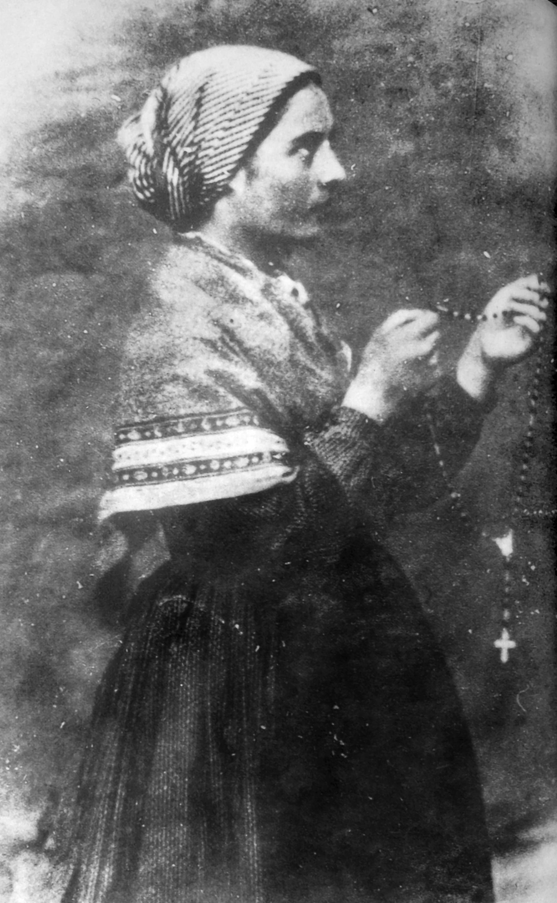 Bernadette Soubirous 1861