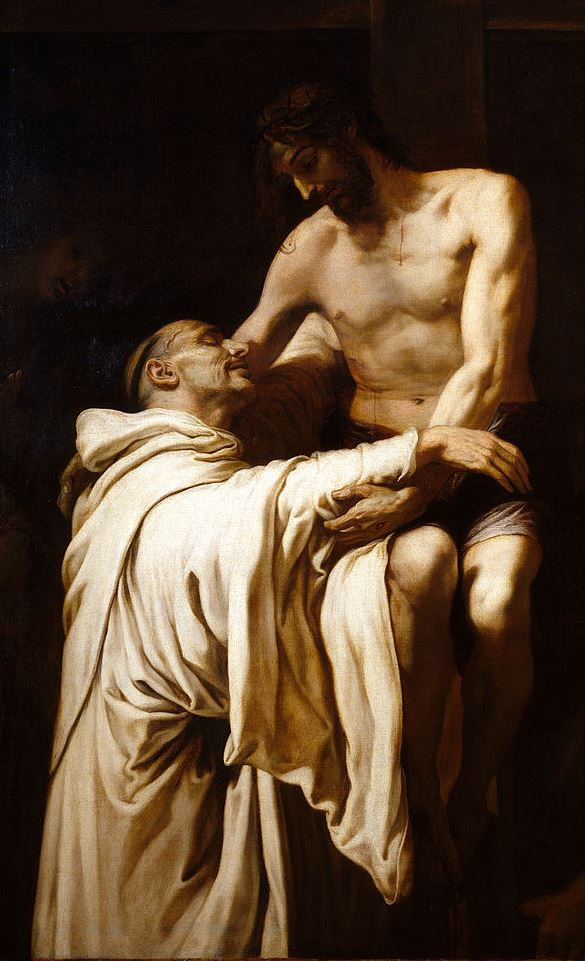 Francesc Ribalta, Der Amplexus des heiligen Bernhard, um 1625, Museo del Prado, Madrid