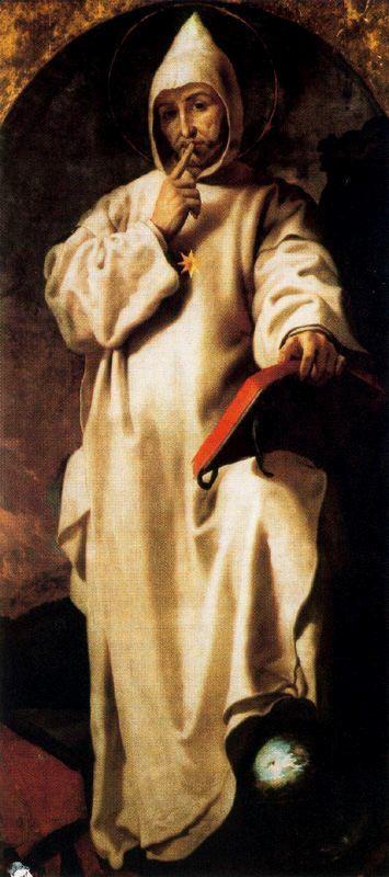Francesc Ribalta, Der hl. Bruno, um 1600, Museo de Bellas Artes de Valencia
