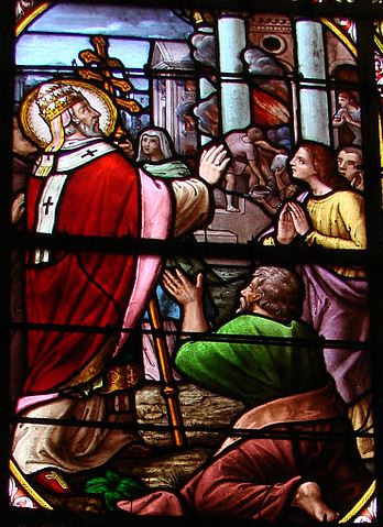 Bleiglasfenster der Kirche Saint-Cornély, Carnac