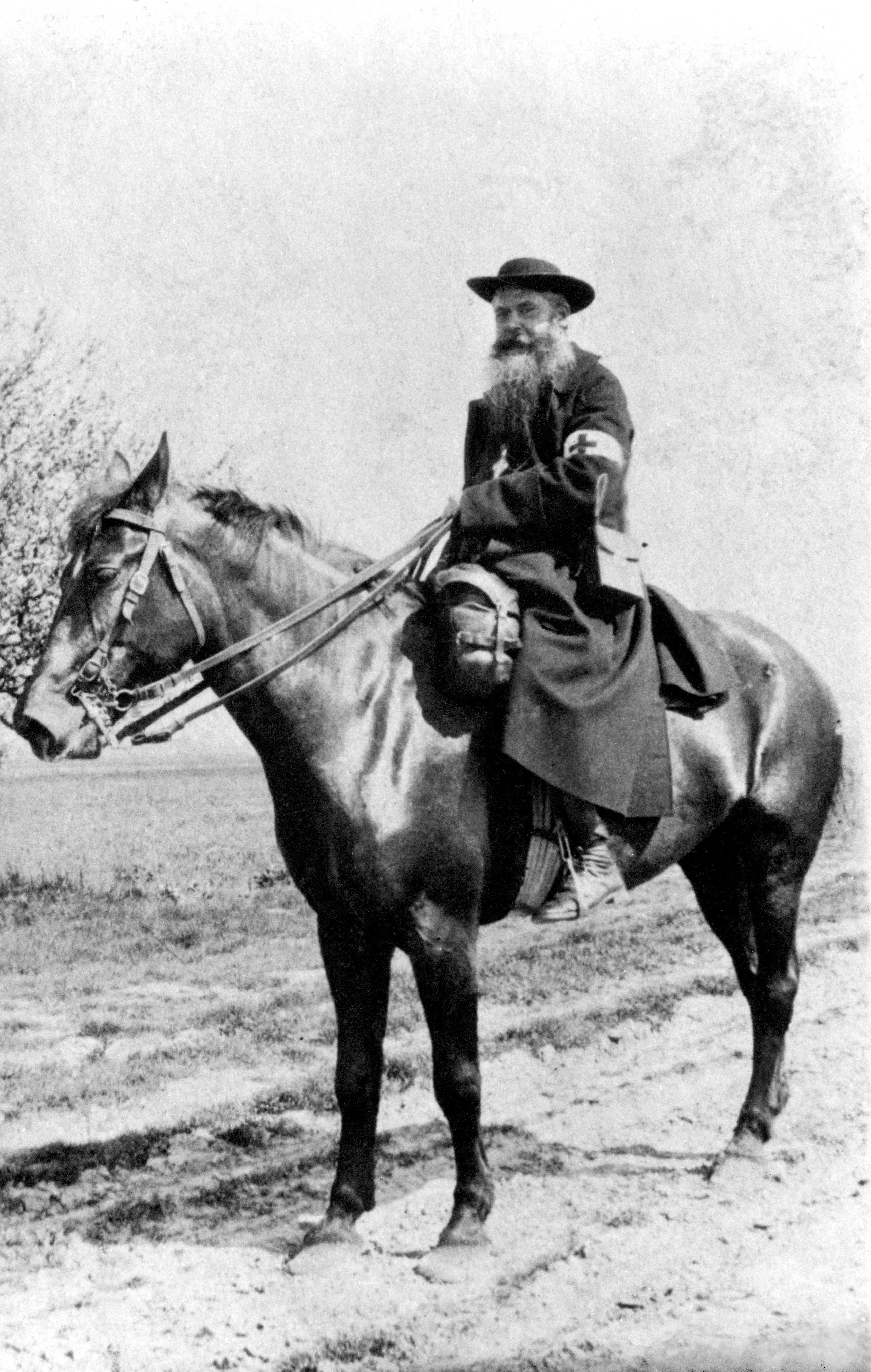 P. Daniel Brottier als Militärkaplan im Ersten Weltkrieg