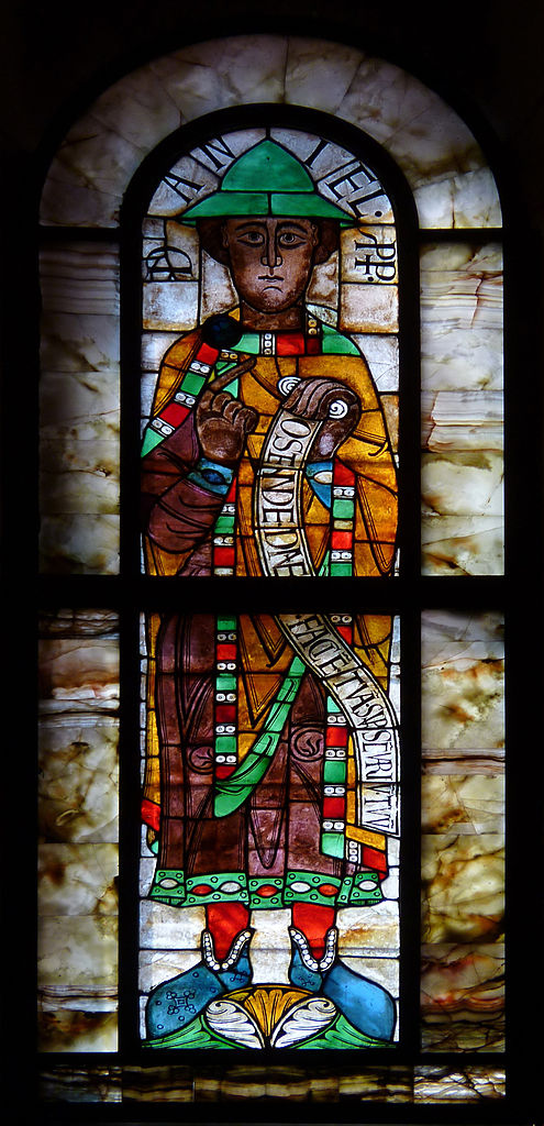 Prophetenfenster im Augsburger Dom, 11./12. Jahrhundert. Foto: Hans Bernhard (CC BY-SA 3.0)