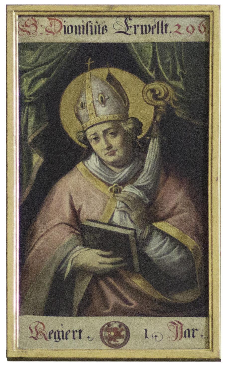 Dionysius, Bischofsgalerie im Augsburger Dom