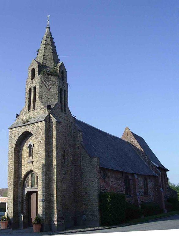 Dreimägdeleinskapelle Notre-Dame de Grâce in Caëstre. Foto: Codepem (CC BY-SA 3.0)