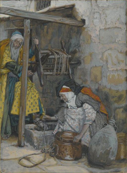 James Tissot, Zacharias und Elisabeth, um 1890, Brooklyn Museum, New York