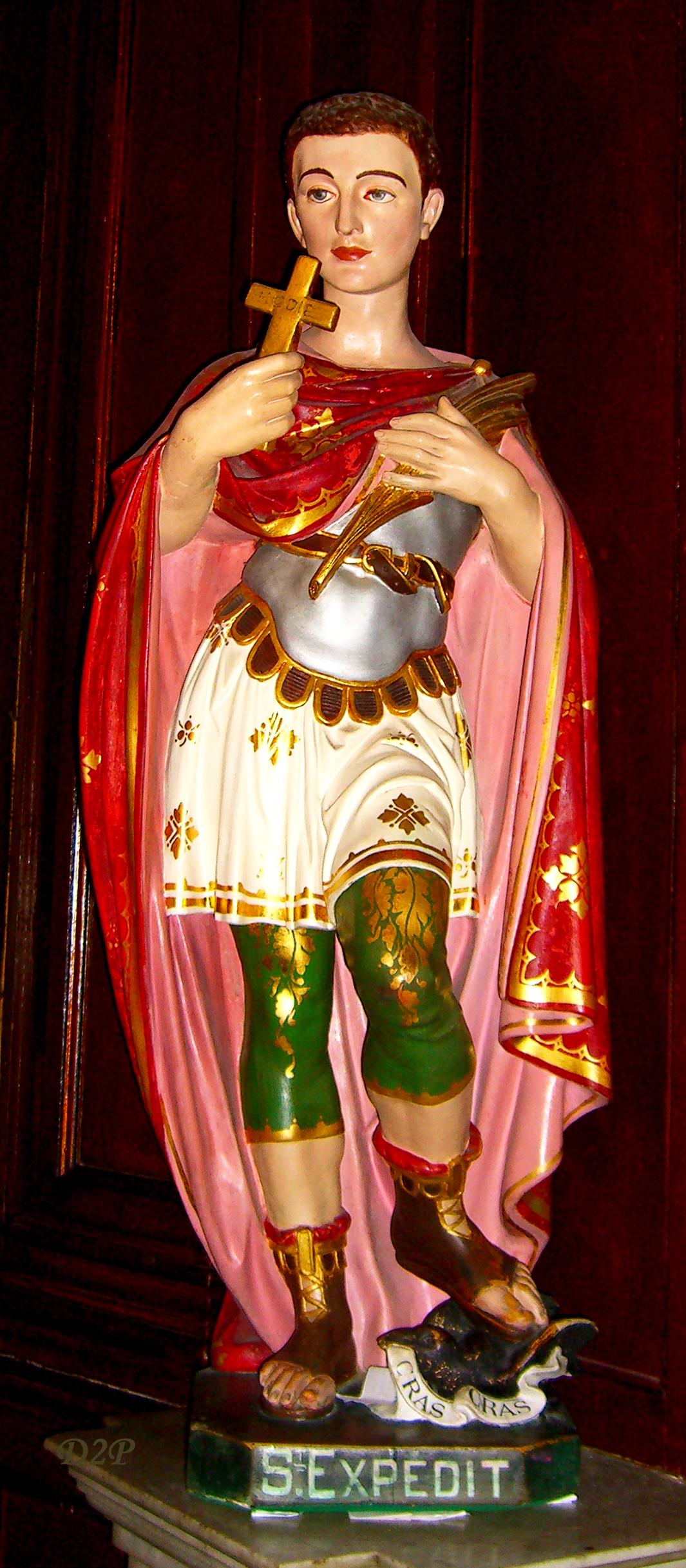Statue in der Kathedrale Notre Dame de la Seds in Toulon. Foto: Domimi83 (CC BY-SA 3.0)