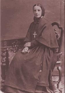 Franziska Xaviera Cabrini kurz nach der Gründung ihres Ordens