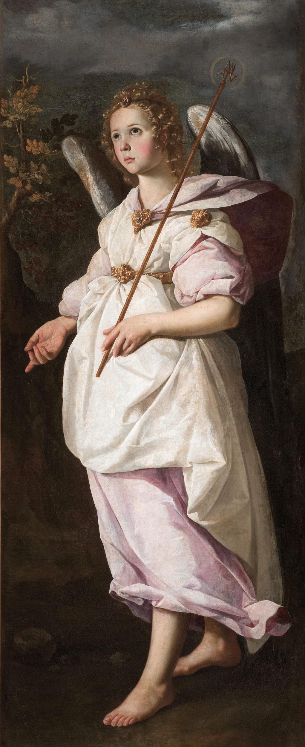 Francisco de Zurbarán, Der Erzengel Gabriel, 1631/1632, Musée Fabre, Montpellier