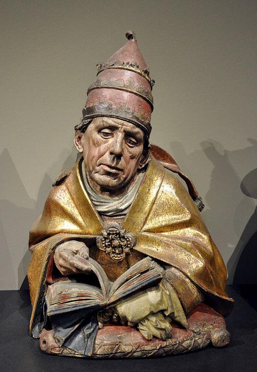 Hans Bilger, Gregorbüste, 1489–1496, Liebieghaus, Frankfurt