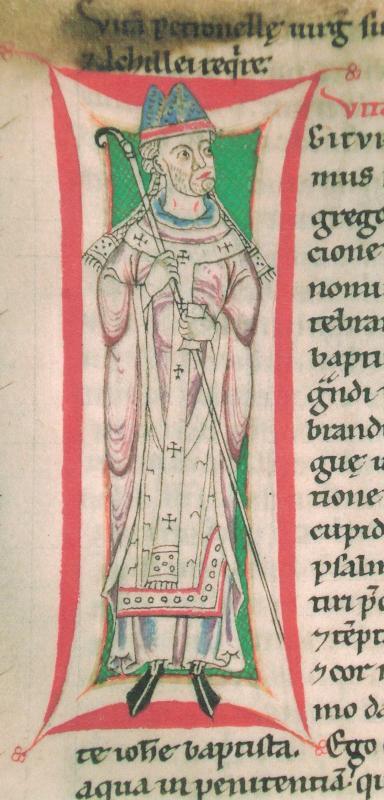 Vita Gregorii von Paul von Bernried, 12. Jahrhundert, Heiligenkreuz, Stiftsbibliothek. Foto: Johannes Gleissner