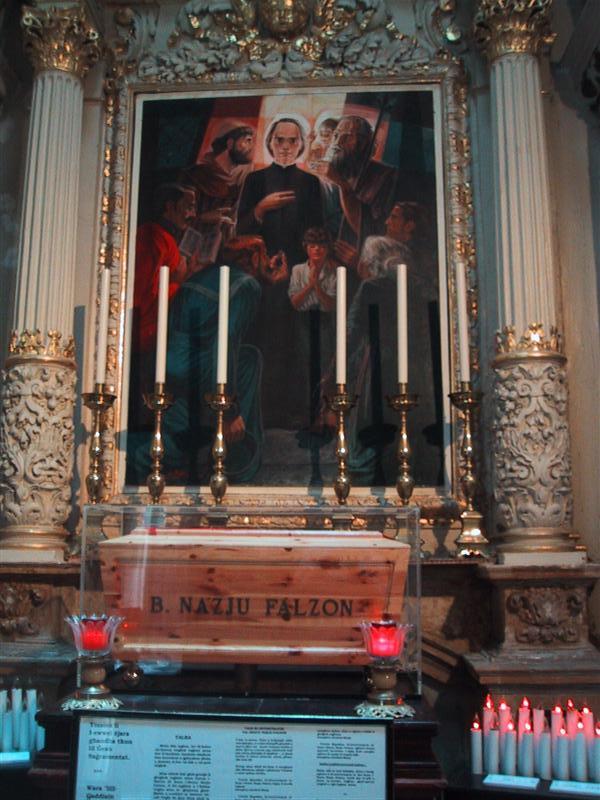 In der Franziskanerkirche von Valletta. Foto: Jürgen Niebecker (CC BY-NC-SA 3.0)