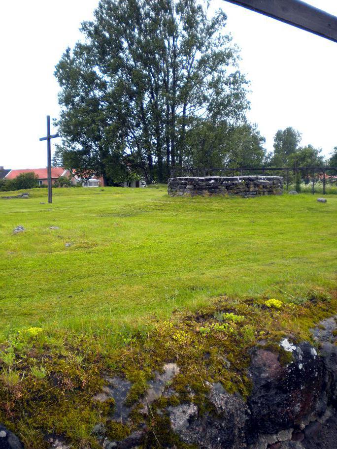 Ruinen des Ingridklosters Skänninge