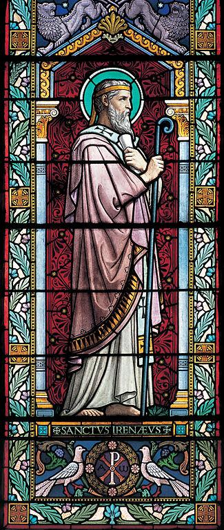 Bleiglasfenster von Lucien Bégule, 1901, Église Saint-Irénée, Lyon