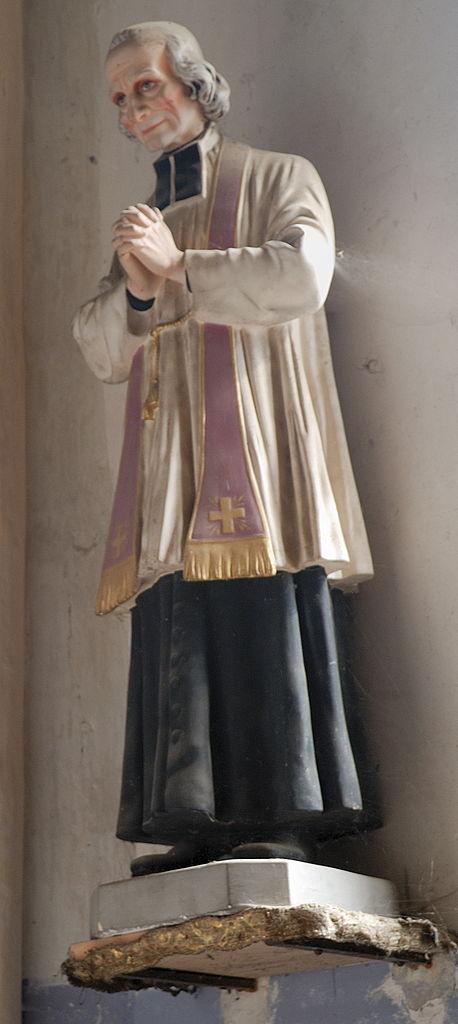 Statue in der Kirche Saint-Loup, Sermentizon (Auvergne). Foto: Romary (CC BY-SA 3.0)