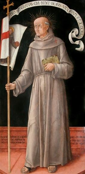 Bartolomeo Vivarini, Johannes von Capestrano, 1459, Musée du Louvre, Paris
