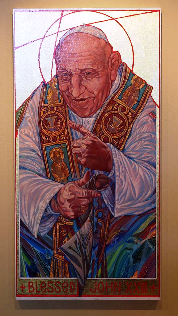 Ikone in der Saint Mary Magdalen Church, Brighton, Michigan. Foto: Nheyob (CC-BY-SA 4.0)