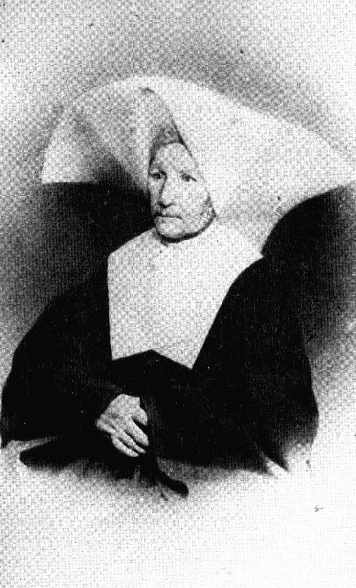 Catherine Labouré 1876 – das einzige Bild zu Lebzeiten. Foto: Compagnie des Filles de la Charité de saint Vincent de Paul/René Laurentin, Vie authentique de Catherine Labouré, 1981