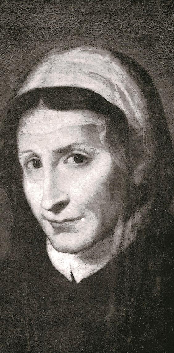 Tommasina Fieschi, Portrait Katharinas im Krankenhaus Pammatone in Genua, um 1510, aus: Vera Schauber, Hanns M. Schindler, Bildlexikon der Heiligen, 1999. Mit freundlicher Genehmigung der Autoren