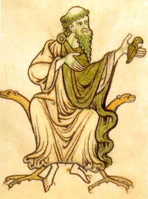 Irische Buchminiatur, 10. Jahrhundert