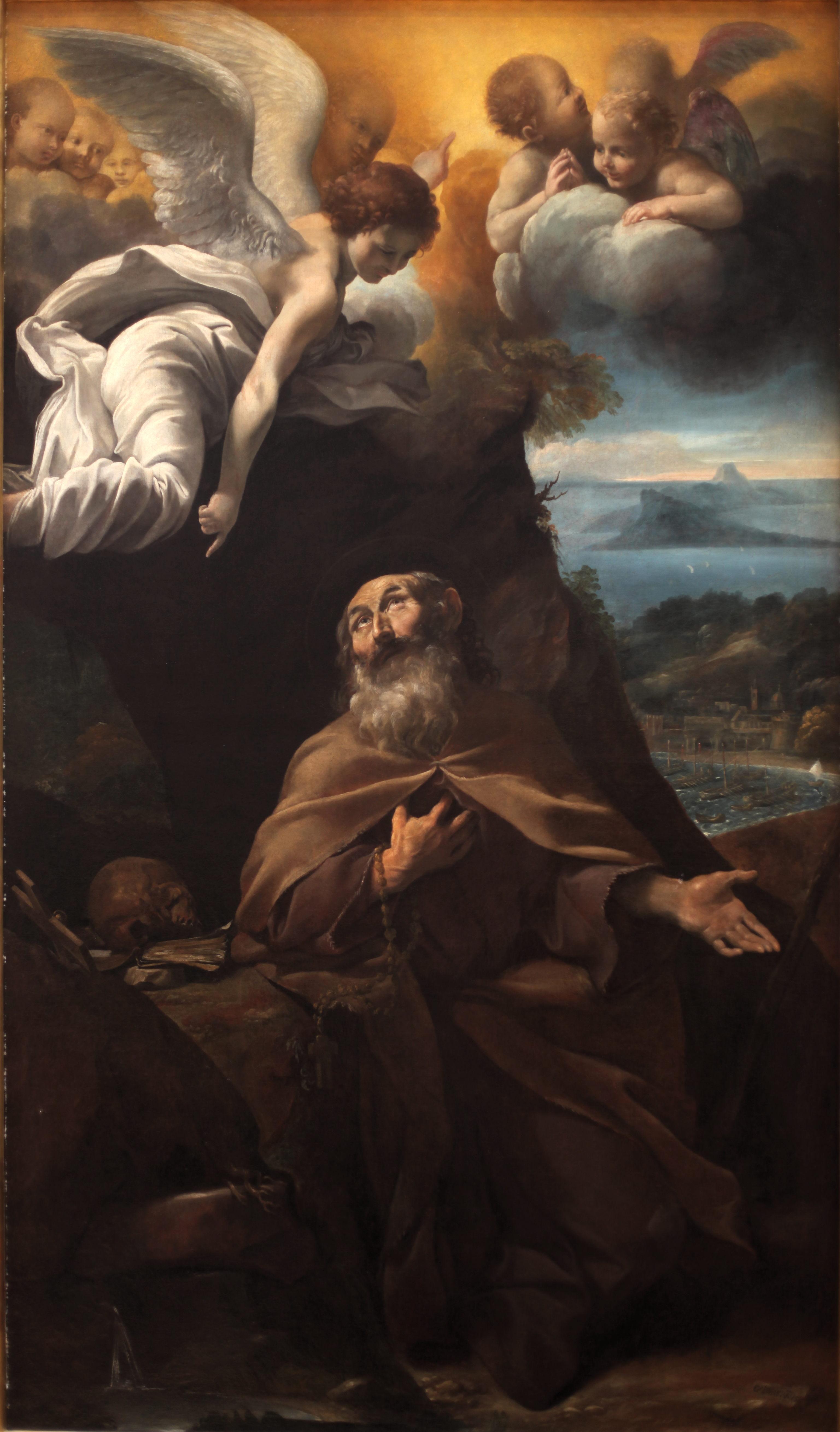 Giovanni Lanfranco, Der hl. Konrad Confalonieri, 1608, Musée des Beaux-Arts de Lyon
