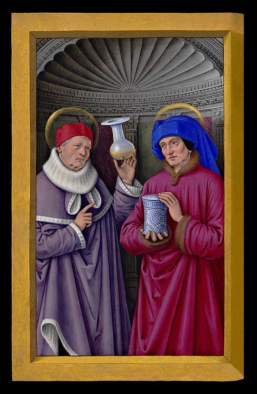 Miniatur aus dem Stundenbuch der Anne de Bretagne, um 1505, Bibliothèque Nationale, Paris