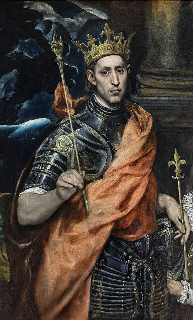 El Greco, Saint-Louis, Roi de France, 1585–1590, Musée du Louvre, Paris